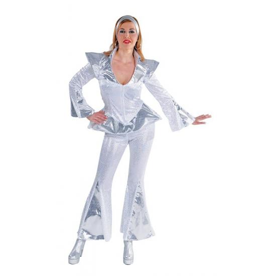 Abba Dancing queen kostuum dames (bron: Disco-feestwinkel)
