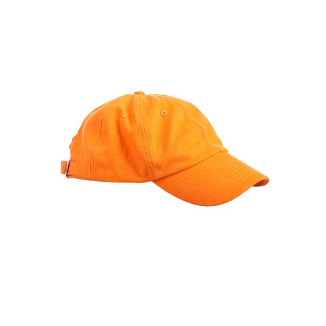 Baseballcaps in oranje kleur (bron: Disco-feestwinkel)