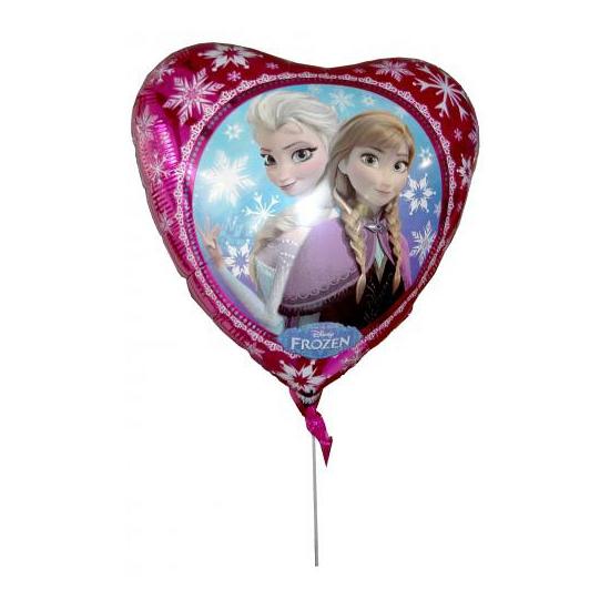 Folie ballon hart Elsa en Anna 43 cm (bron: Disco-feestwinkel)