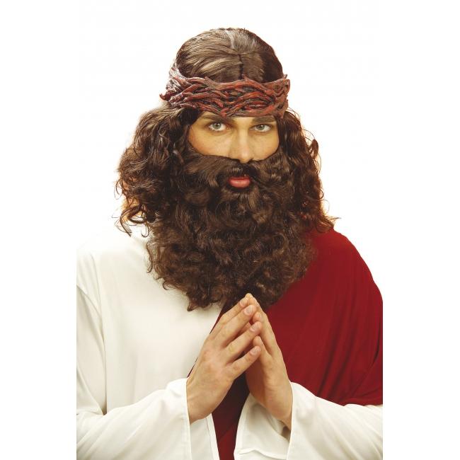 Jozef pruik met baard