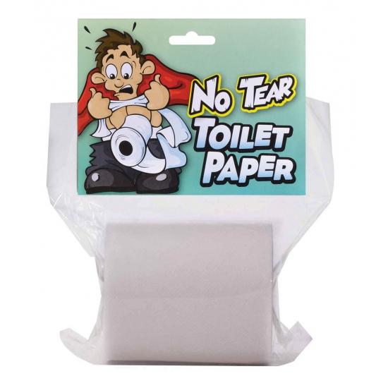 Niet af te scheuren WC papier (bron: Disco-feestwinkel)