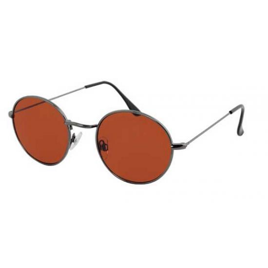 04afd8b6e09339 Royal Night Of Disco-totaal - Oranje zonnebril met ronde glazen