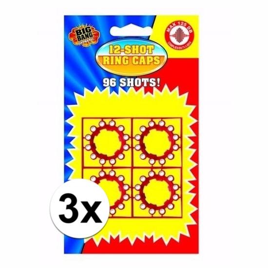 12-schots speelgoed plaffertjes 3 stuks