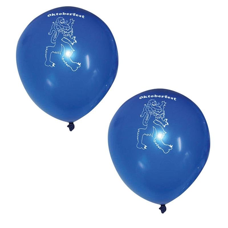 12x Beieren Oktoberfest ballonnen