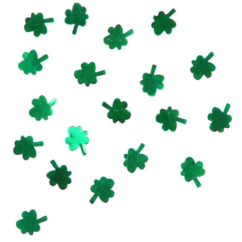 15 gram Ierland confetti klavertjes drie