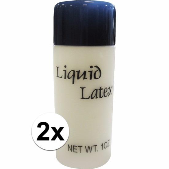2 flesjes liquid latex 28 ml
