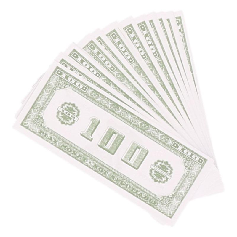 200x Speelgoed namaak 100 dollar biljetten