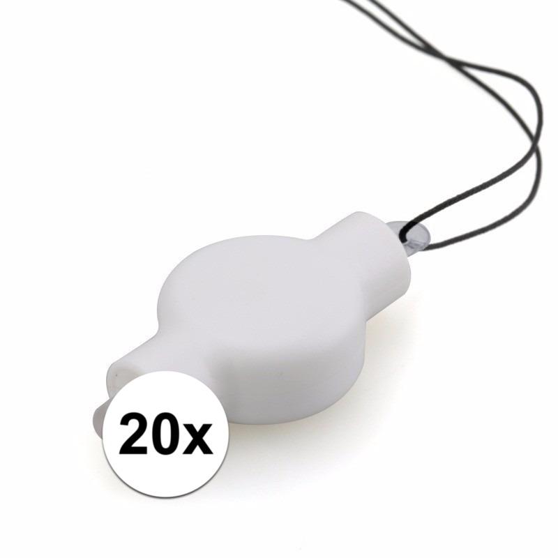 20x LED lampjes voor in een lampion