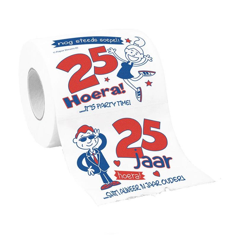 25 Jaar toiletpapier