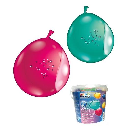 250 water ballonnen gekleurd