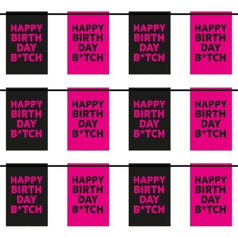 3x Happy Birthday B*tch slingers