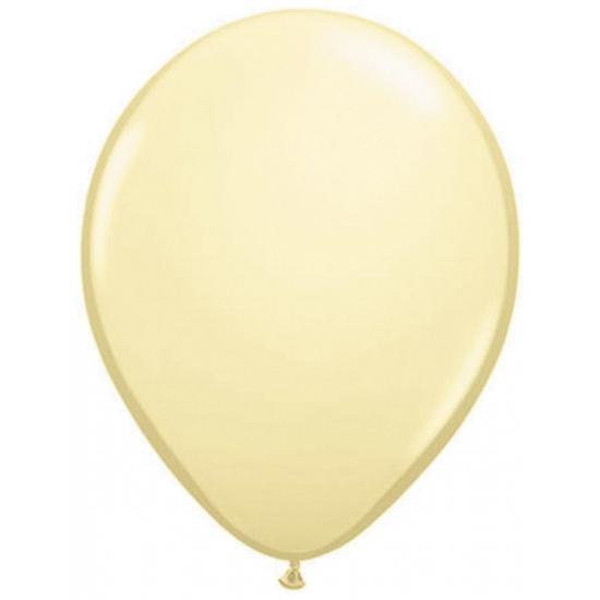 50x ballonnen ivoor