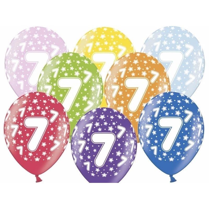 7 jaar ballonnen met sterren