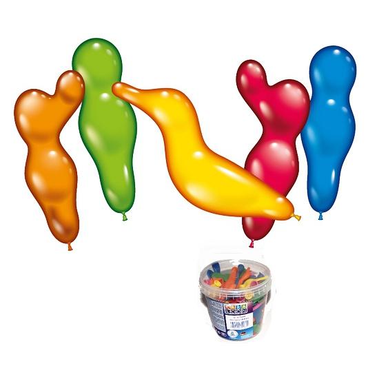 75 figuur ballonnen in emmer