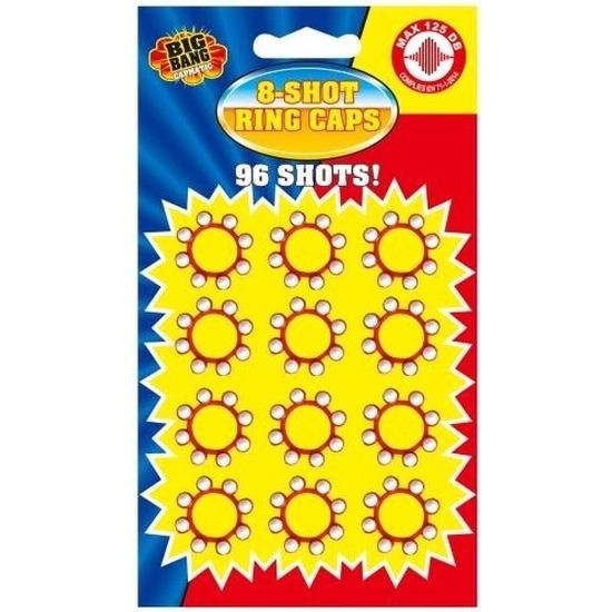8-schots speelgoed plaffertjes 12x ringen