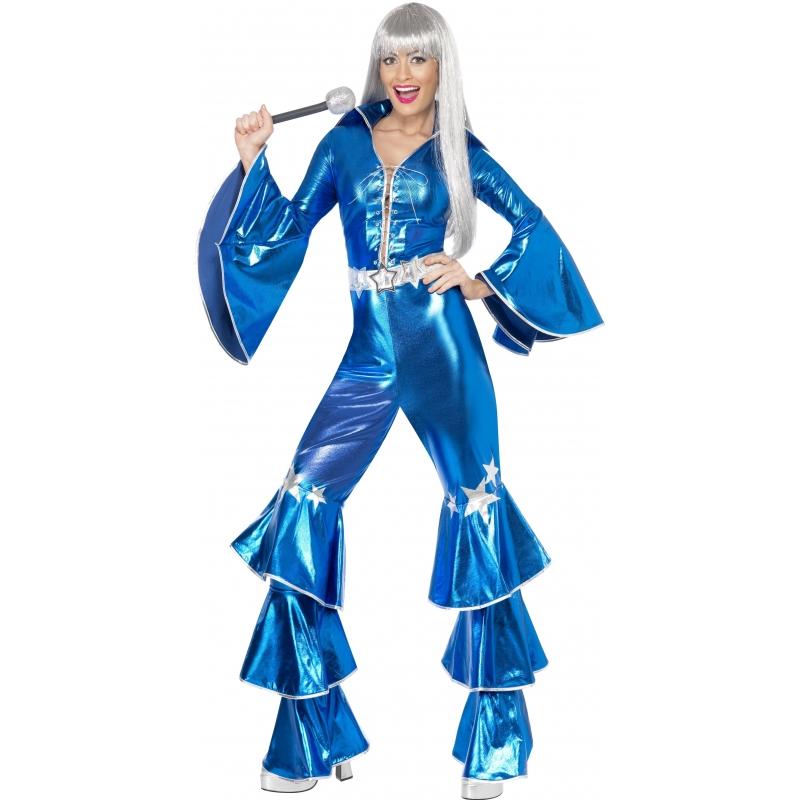 Abba jumpsuit blauw