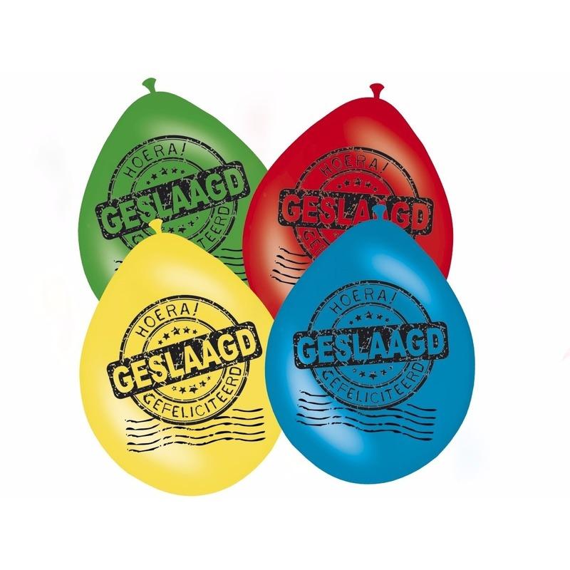 Afgestudeerd versiering ballonnen 8x