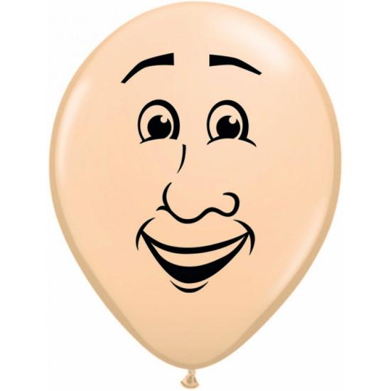Ballon met man gezicht 40 cm