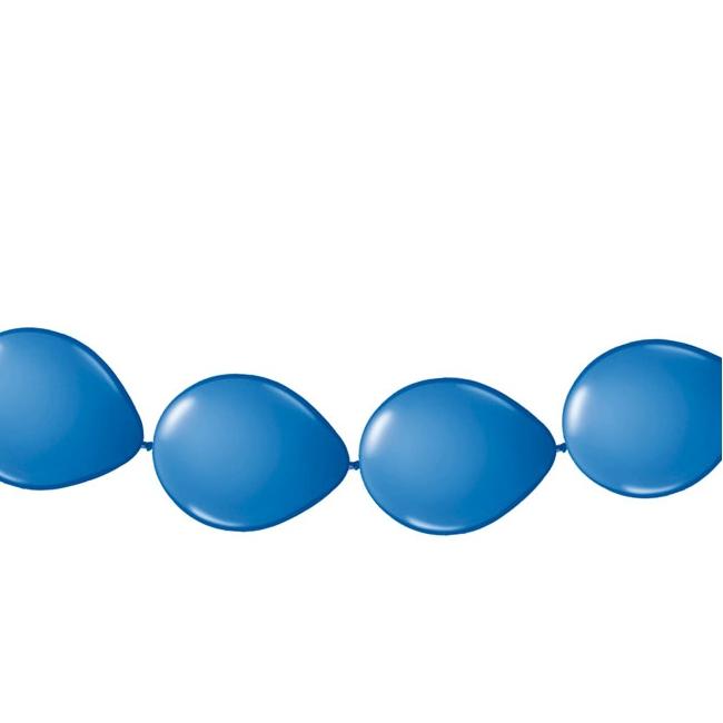 Ballon slinger blauw 3 meter