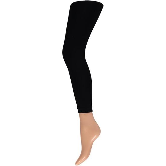 Basic leggings 60 denier zwart voor dames