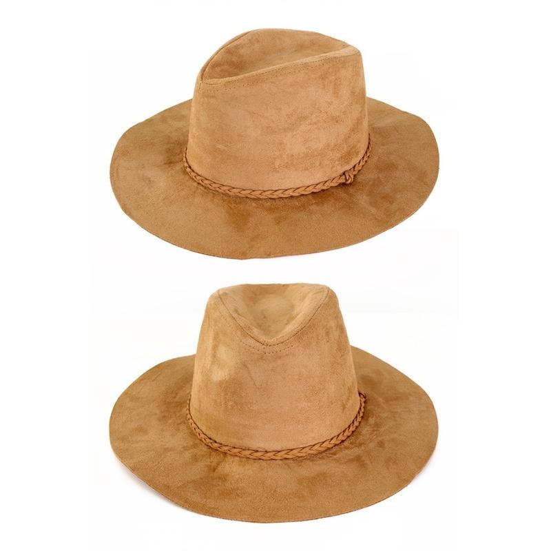 Beige verkleed cowboy hoed beige voor volwassenen