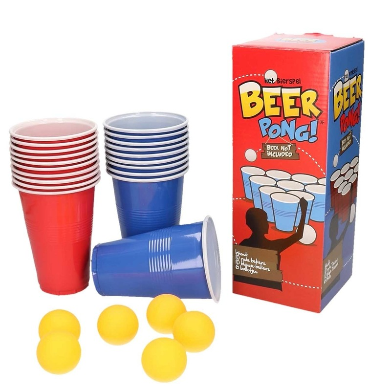 Bier Pong drankspelletjes