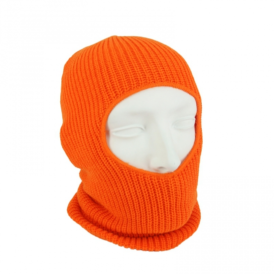 Bivakmuts one hole oranje