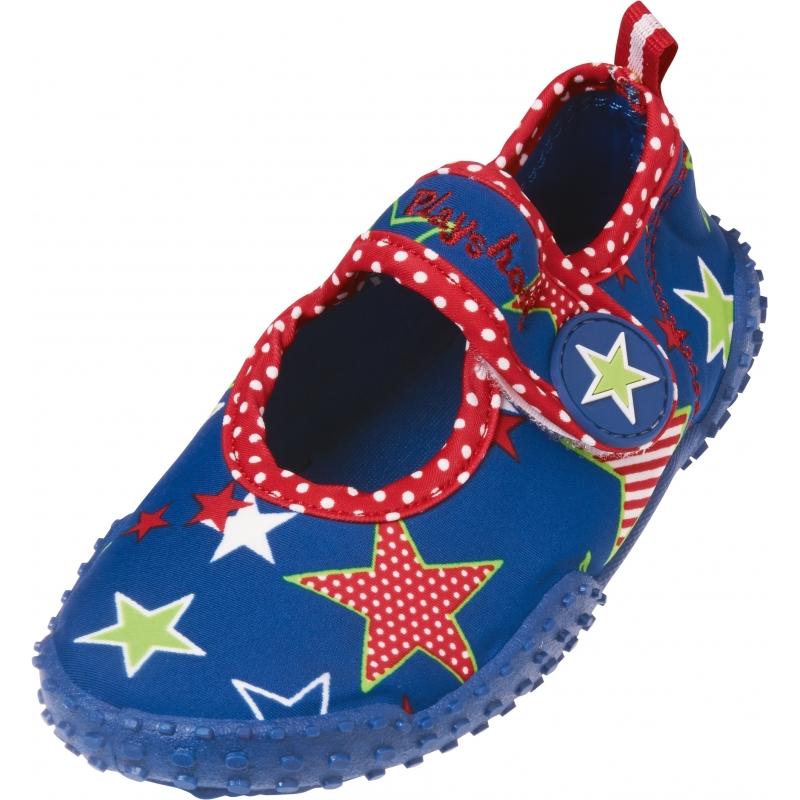 Blauwe UV surfschoenen ster voor kinderen