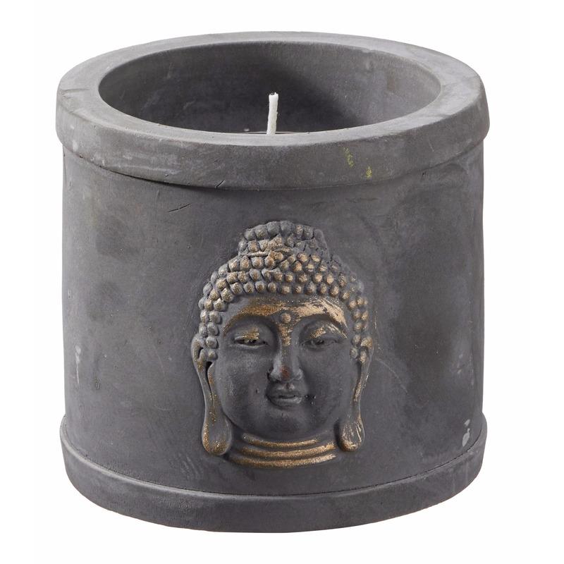 Boeddha artikelen cement kaarshouder
