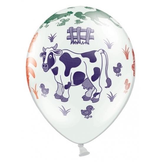 Boerderij thema ballonnen 6 stuks