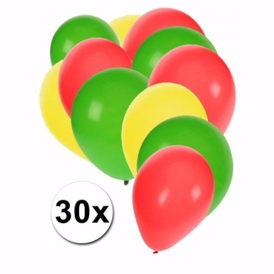 Boliviaanse ballonnen pakket 30x