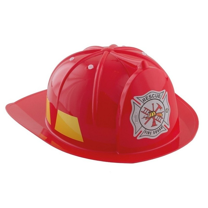 Brandweerhelm verkleed accessoire kind