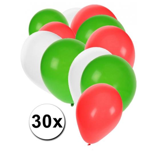 Bulgaarse ballonnen pakket 30x