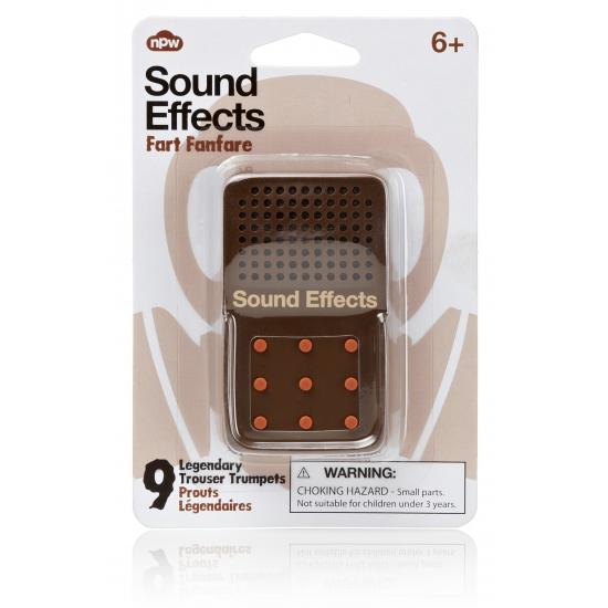 Button met scheet geluiden
