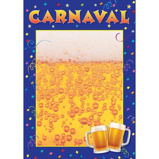 Carnaval Aankondiging Poster