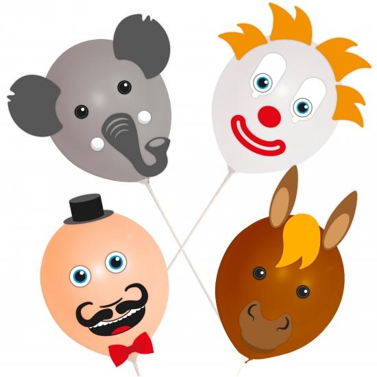 Circus ballonnetjes setje