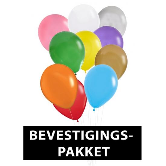 Compleet pakket voor ballonnen ophangen