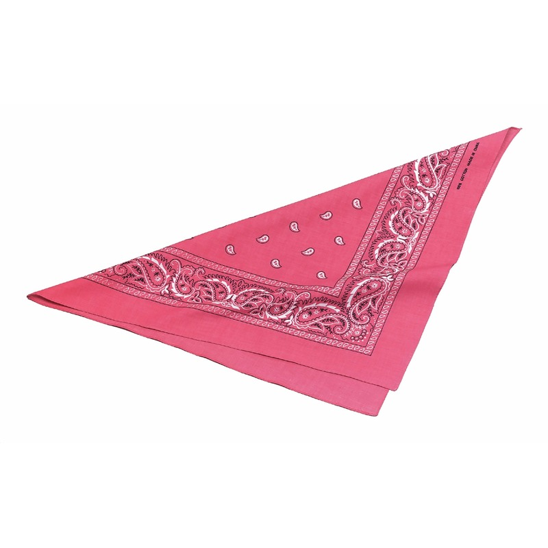 Cowgirl zakdoek roze