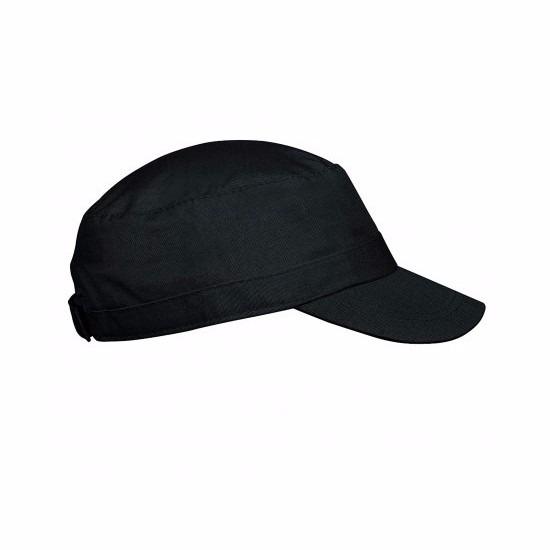 Cuba cap zwart voor volwassenen