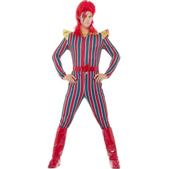 David Bowie look-a-like verkleedkleding voor heren