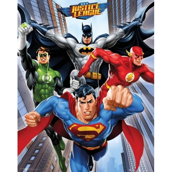 DC Comics Superhelden mini poster 40 x 50 cm