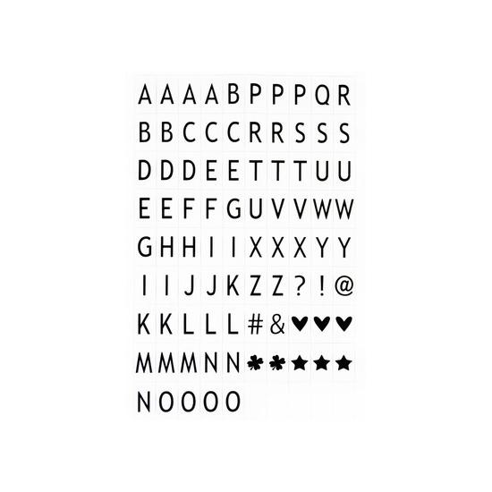 Deco lightbox alfabet universeel