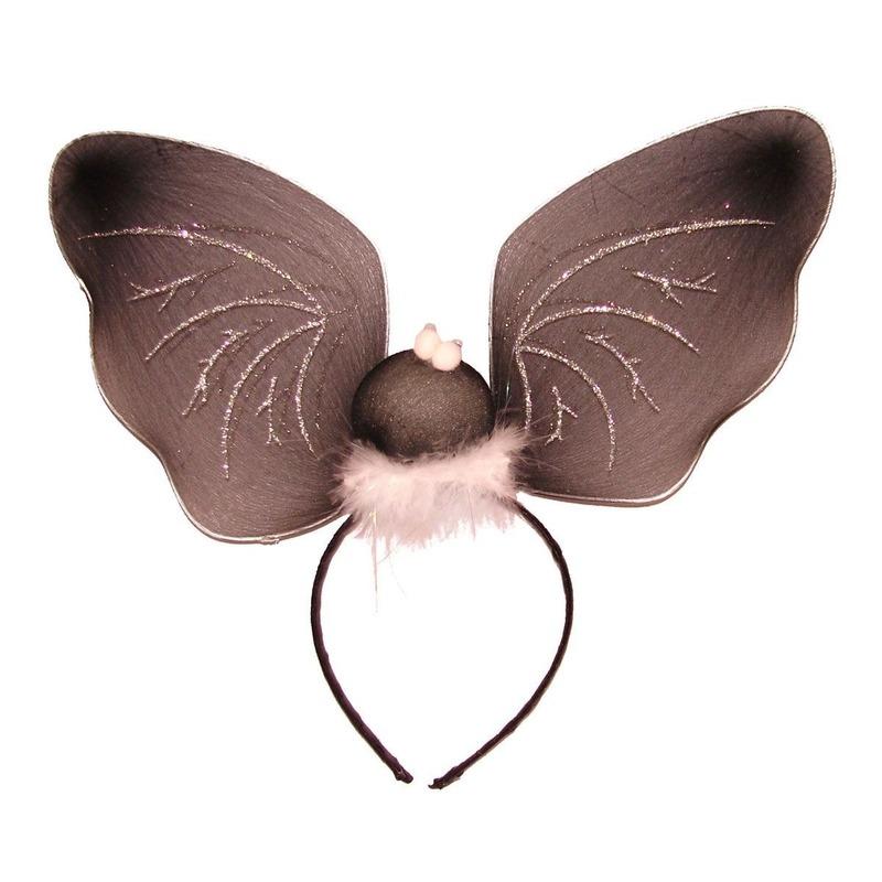 Diadeem met vleermuis vleugels