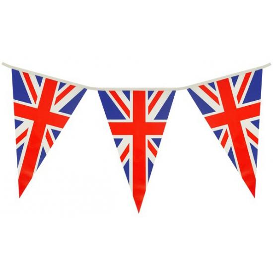 Engeland-UK feest thema vlaggetjes 7 meter