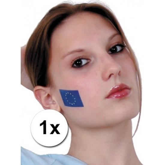 Europese vlag tattoeage