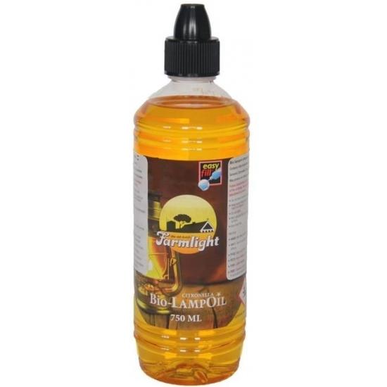 Flessen Farmlight citronella lampenolie 750 ml