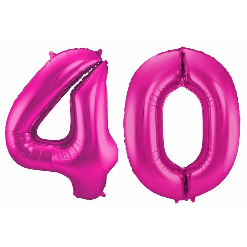 Folie ballon 40 jaar 86 cm