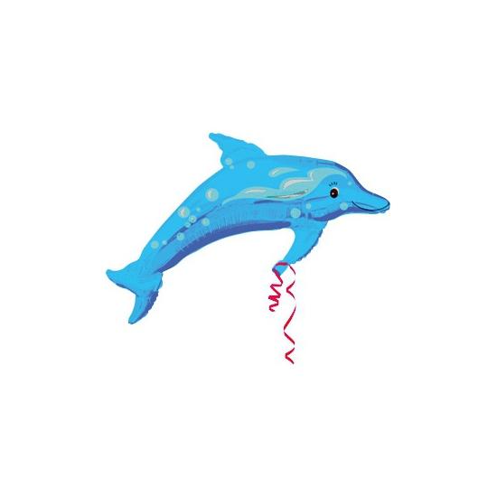 Folie ballon dolfijn 94 cm