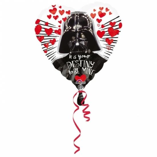 Folie liefdes ballon Star wars 43cm