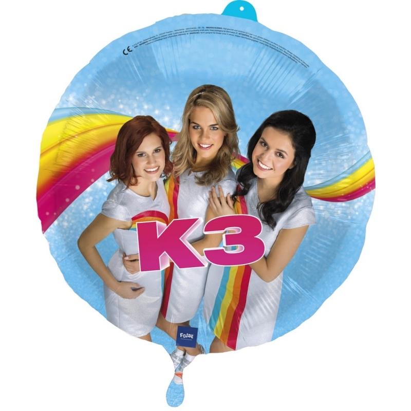 Folieballon K3 verjaardag